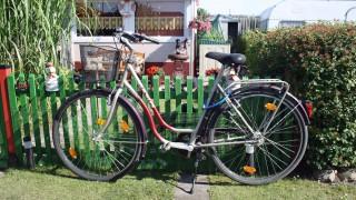 Fahrrad zum Brötchenholen