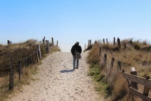 Lange Strandspaziergänge