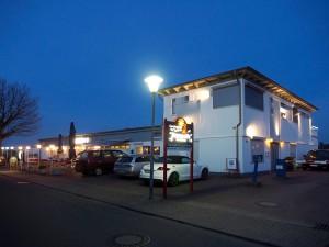 EIngangsbereich des Campingplatzes Hanseatic